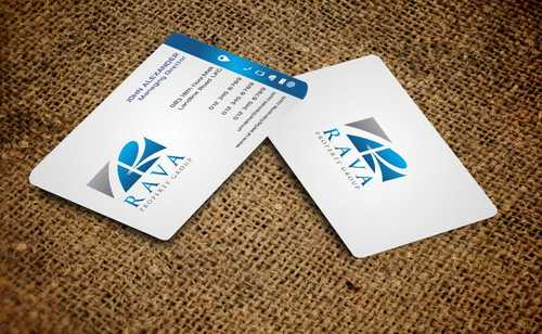 Rava Property Group Business Cards and Stationery  Draft # 208 by Dawson
