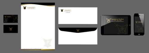 combined with stationery & logo Business Cards and Stationery  Draft # 313 by Xpert