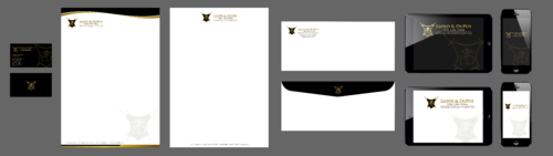 combined with stationery & logo Business Cards and Stationery Winning Design by Xpert