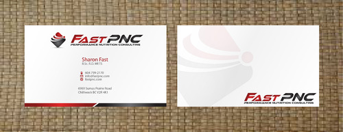 fast pnc Business Cards and Stationery  Draft # 295 by 14stars