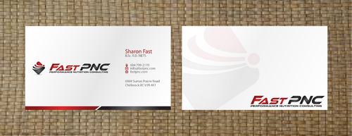 fast pnc Business Cards and Stationery  Draft # 296 by 14stars