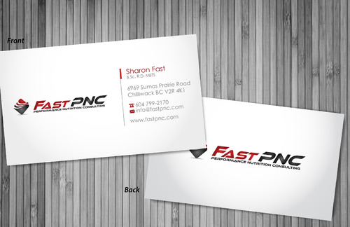fast pnc Business Cards and Stationery  Draft # 301 by sevensky