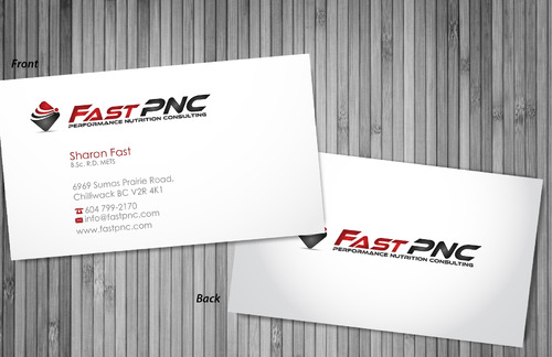 fast pnc Business Cards and Stationery  Draft # 302 by sevensky