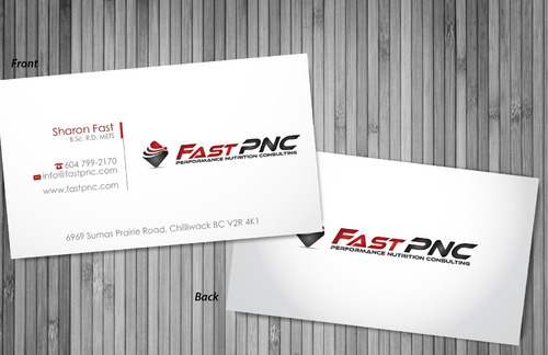 fast pnc Business Cards and Stationery  Draft # 303 by sevensky