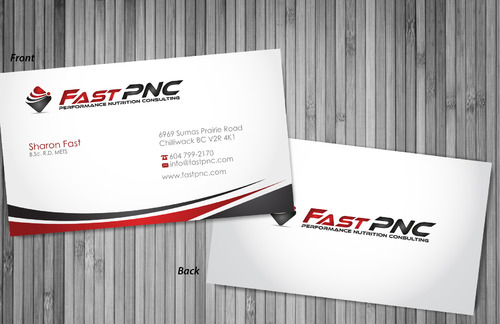 fast pnc Business Cards and Stationery  Draft # 305 by sevensky