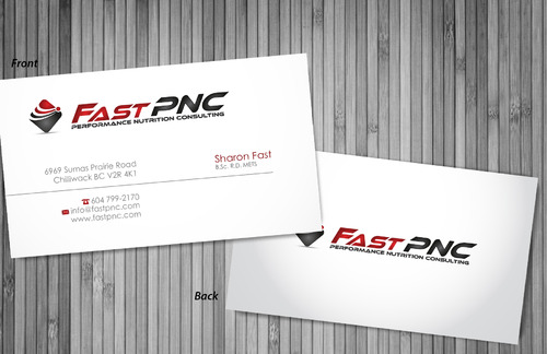 fast pnc Business Cards and Stationery  Draft # 306 by sevensky