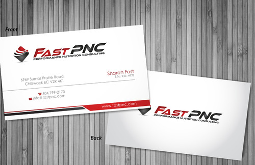 fast pnc Business Cards and Stationery  Draft # 307 by sevensky