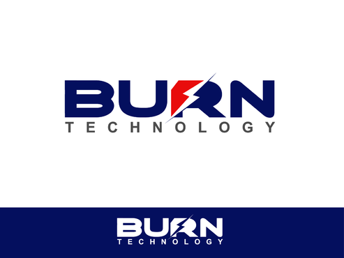 BURN TECHNOLOGY Logo Winning Design by Shoaibali