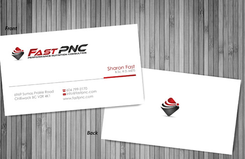 fast pnc Business Cards and Stationery  Draft # 310 by sevensky