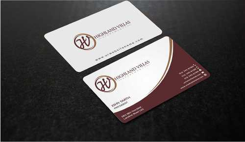 Highland Villas Apartments and Highland Villas Apartments - Independent Senior Living  Business Cards and Stationery  Draft # 291 by Dawson