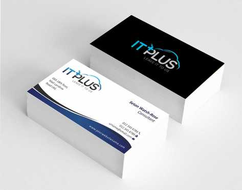 IT PLUS Business Cards and Stationery  Draft # 200 by Dawson
