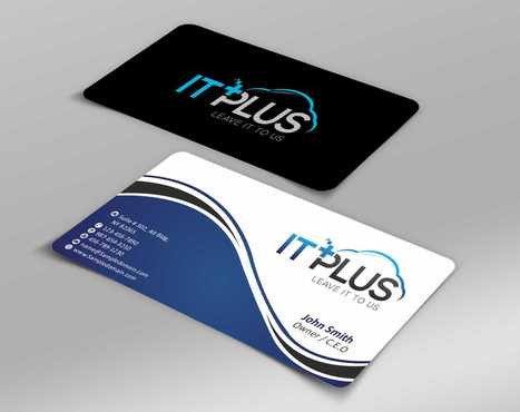 IT PLUS Business Cards and Stationery  Draft # 201 by Dawson