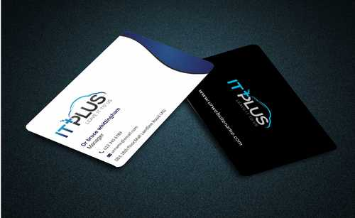 IT PLUS Business Cards and Stationery  Draft # 202 by Dawson