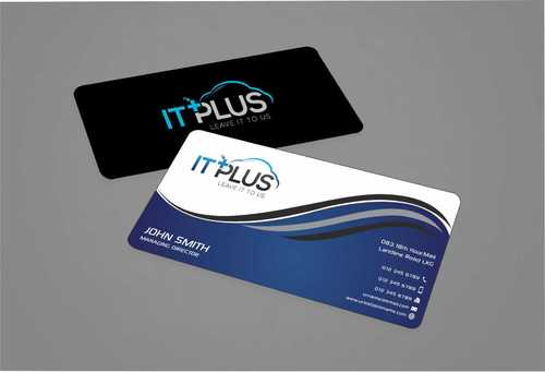 IT PLUS Business Cards and Stationery  Draft # 207 by Dawson