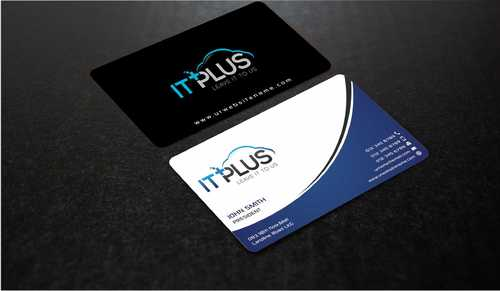 IT PLUS Business Cards and Stationery  Draft # 209 by Dawson