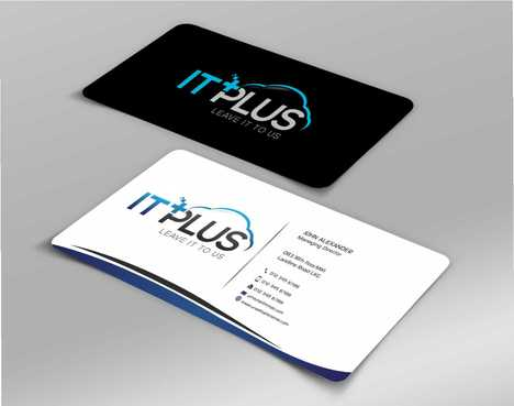 IT PLUS Business Cards and Stationery  Draft # 216 by Dawson