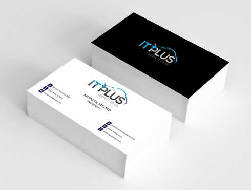 IT PLUS Business Cards and Stationery  Draft # 217 by Dawson