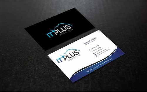 IT PLUS Business Cards and Stationery  Draft # 220 by Dawson