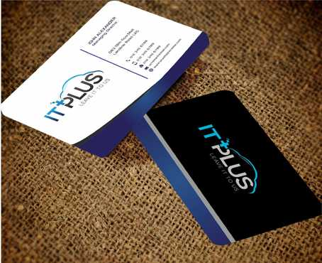IT PLUS Business Cards and Stationery  Draft # 221 by Dawson