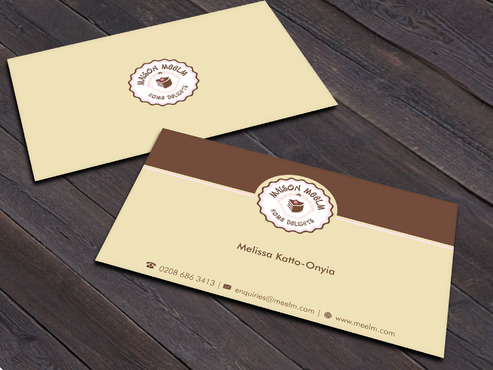 Maison Meelm Business Cards and Stationery  Draft # 2 by Xpert