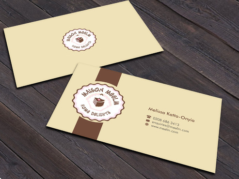 Maison Meelm Business Cards and Stationery  Draft # 4 by Xpert