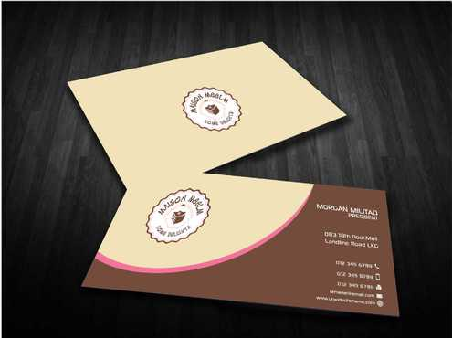 Maison Meelm Business Cards and Stationery  Draft # 185 by Dawson