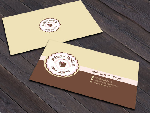 Maison Meelm Business Cards and Stationery  Draft # 195 by Xpert