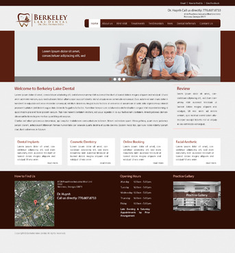 Berkeley Lake Dental Complete Web Design Solution  Draft # 58 by radhey