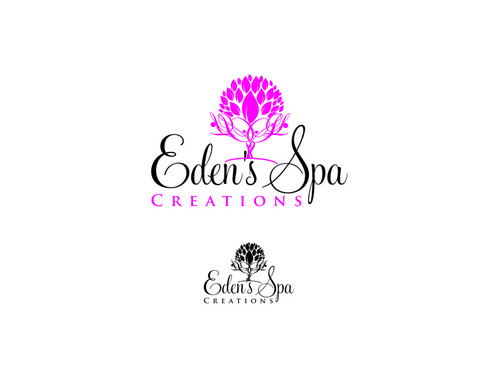 Edens Spa Creations Logo Winning Design By Vikilogos