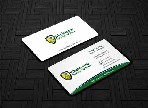 Wholesome Financial Partners Inc. Business Cards and Stationery  Draft # 226 by Dawson