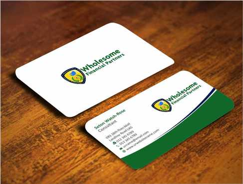 Wholesome Financial Partners Inc. Business Cards and Stationery  Draft # 227 by Dawson