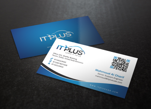 IT PLUS Business Cards and Stationery Winning Design by einsanimation