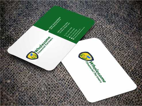 Wholesome Financial Partners Inc. Business Cards and Stationery  Draft # 257 by Dawson