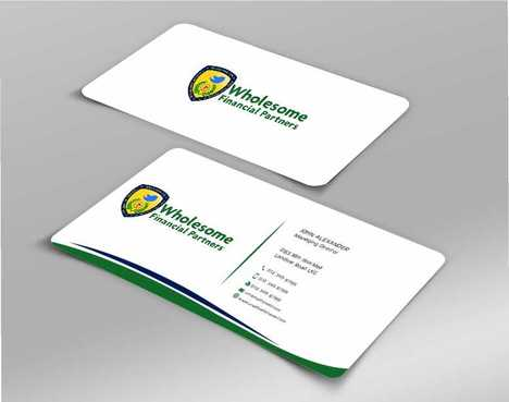 Wholesome Financial Partners Inc. Business Cards and Stationery  Draft # 260 by Dawson