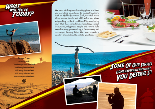 Malibu Marketing collateral Winning Design by EleVen711