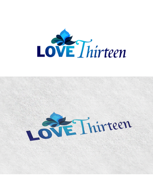 LOVE thirteen (as shown) A Logo, Monogram, or Icon  Draft # 61 by rooster