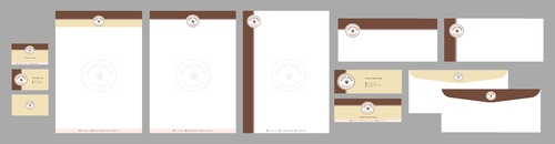Maison Meelm Business Cards and Stationery Winning Design by Xpert