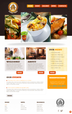 Golden Palace Web Design  Draft # 13 by EpsonDesign