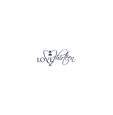 LOVE thirteen (as shown) A Logo, Monogram, or Icon  Draft # 66 by InventiveStylus