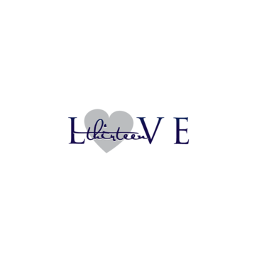 LOVE thirteen (as shown) A Logo, Monogram, or Icon  Draft # 69 by InventiveStylus