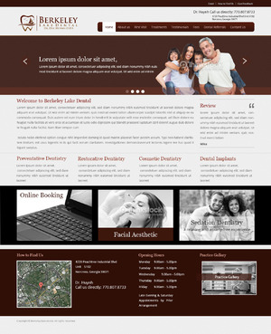 Berkeley Lake Dental Complete Web Design Solution  Draft # 120 by radhey