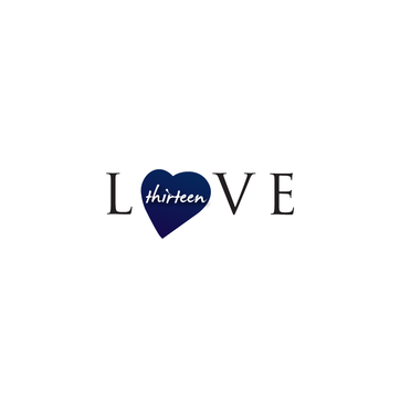 LOVE thirteen (as shown) A Logo, Monogram, or Icon  Draft # 74 by InventiveStylus