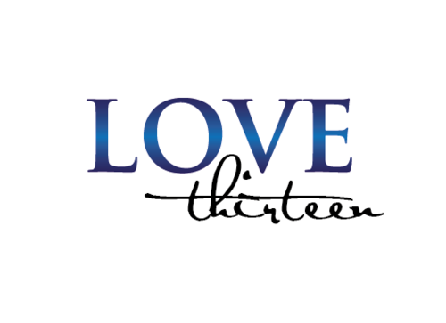 LOVE thirteen (as shown) A Logo, Monogram, or Icon  Draft # 76 by vishi
