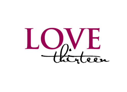 LOVE thirteen (as shown) A Logo, Monogram, or Icon  Draft # 77 by vishi