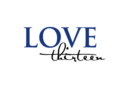 LOVE thirteen (as shown) A Logo, Monogram, or Icon  Draft # 78 by vishi