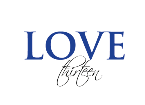 LOVE thirteen (as shown) A Logo, Monogram, or Icon  Draft # 80 by vishi