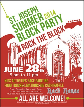 St. Joseph Summer Block Party Marketing collateral  Draft # 19 by ALgraphics