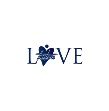 LOVE thirteen (as shown) A Logo, Monogram, or Icon  Draft # 81 by InventiveStylus