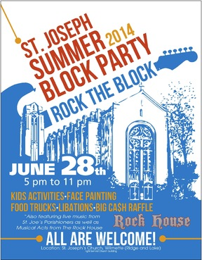St. Joseph Summer Block Party Marketing collateral  Draft # 21 by ALgraphics
