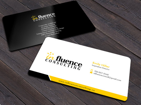 Influence Consulting Business Cards and Stationery  Draft # 7 by Xpert